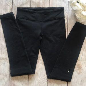 Girls Lululemon Ivivva Black Pants Leggings 10